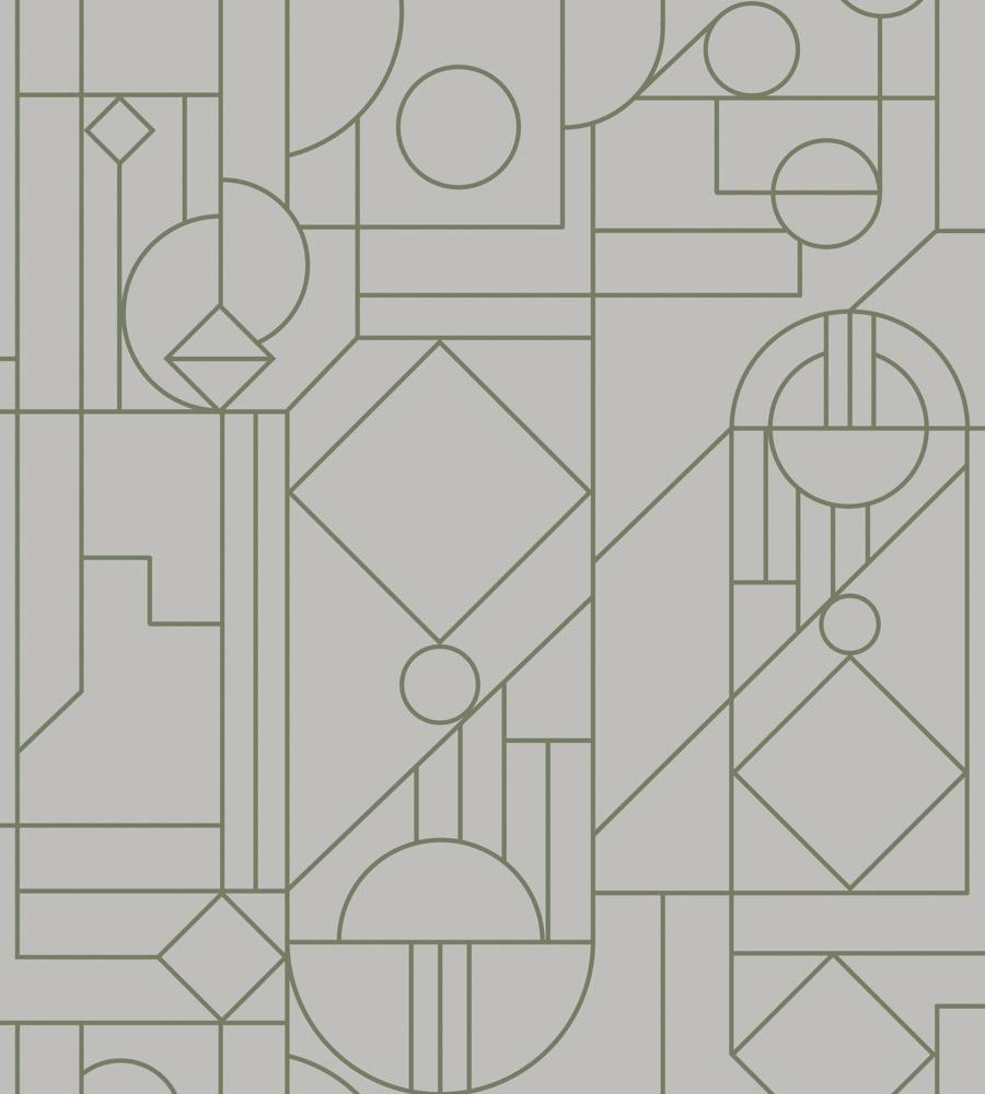 ОБОИ HOOKEDONWALLS TINTED TILES арт. 29010