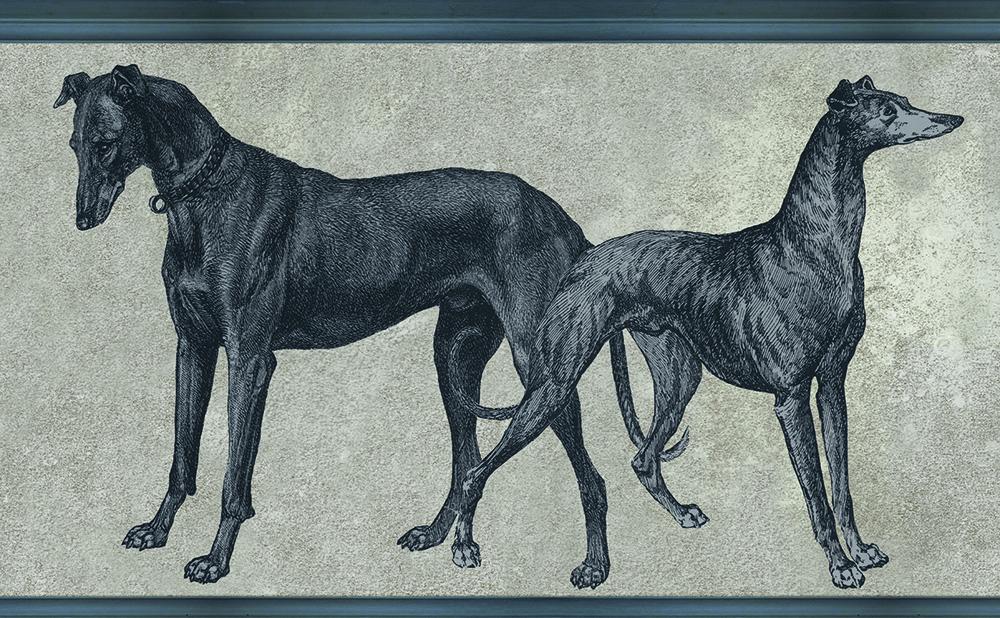 ОБОИ TENUE DE VILLE ODE арт. Canis Royal/ODE-191915