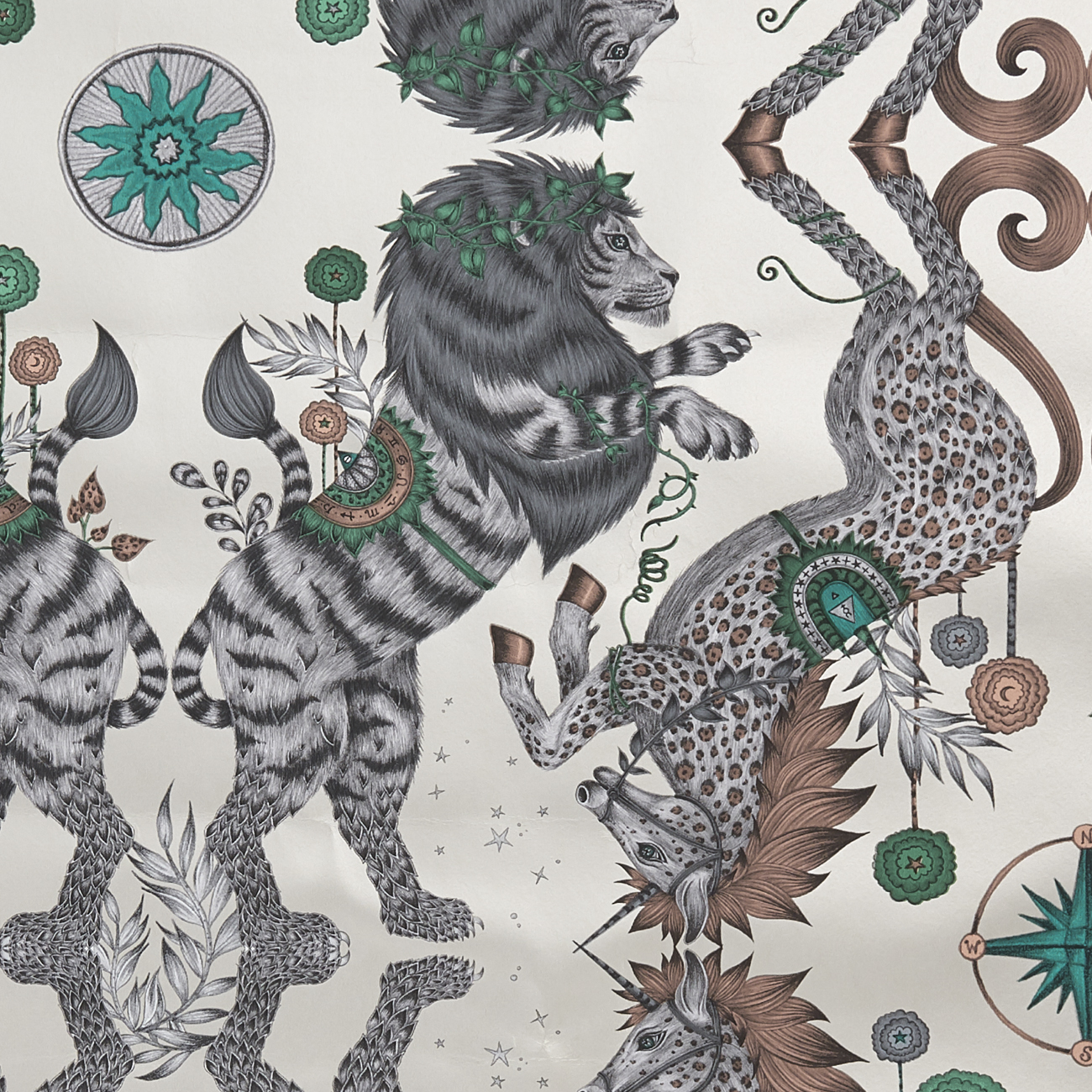 ОБОИ CLARKE & CLARKE WILDERIE арт. W0113-02