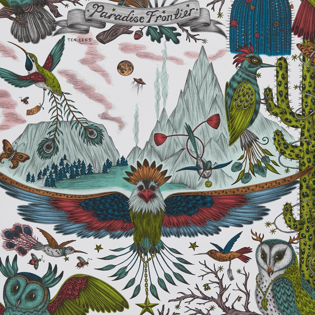 ОБОИ CLARKE & CLARKE WILDERIE арт. W0116-03