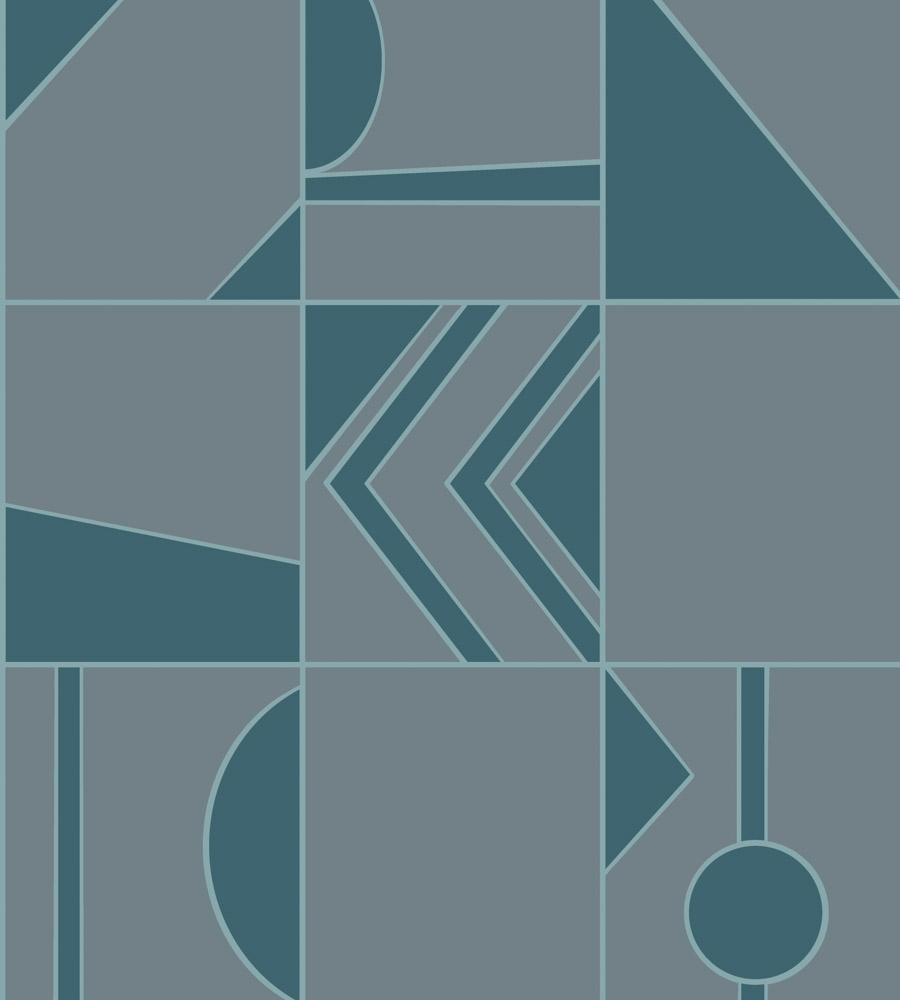 ОБОИ HOOKEDONWALLS TINTED TILES арт. 29040