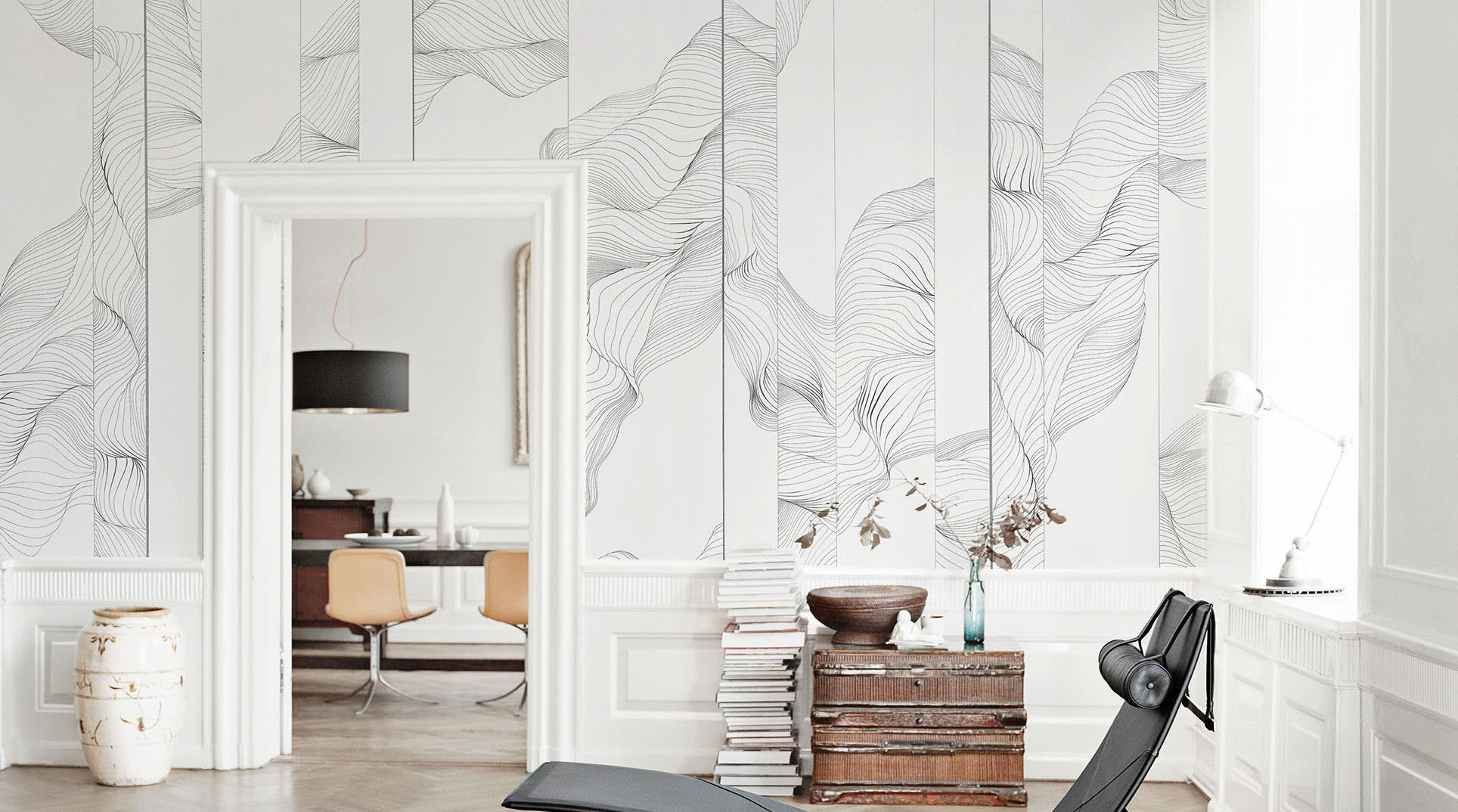 Обои G O 02 Fresq Hand Made Wallpaper Artique