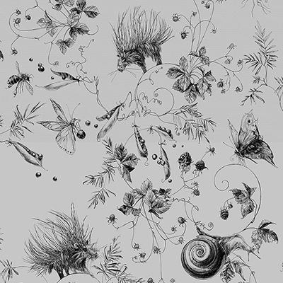 ОБОИ EDMOND PETIT CATHERINE GRAL арт. RM103-04